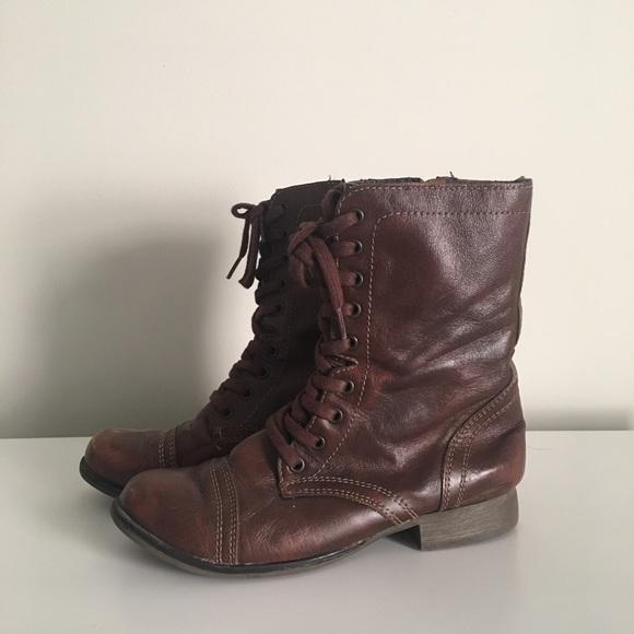c0165773306 Women's Steve Madden Combat Boots size 8